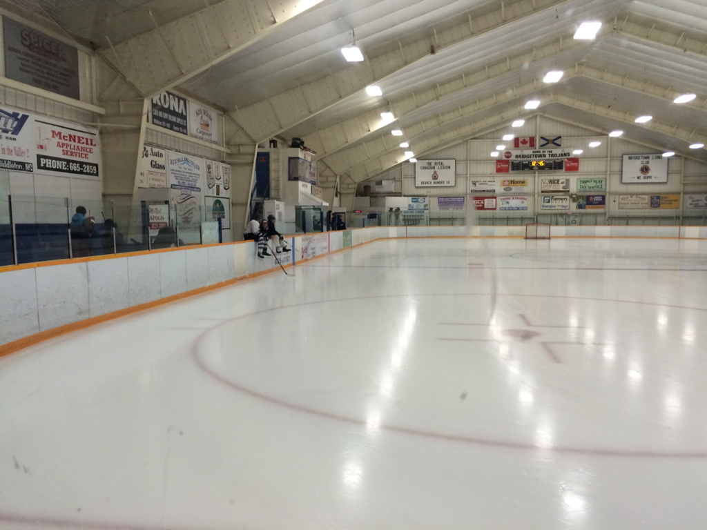 Bridgetown hockey arena