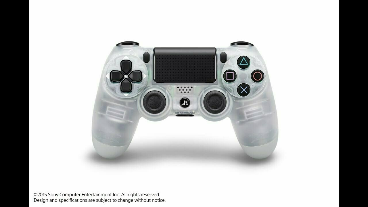 Crystal PS4 controller