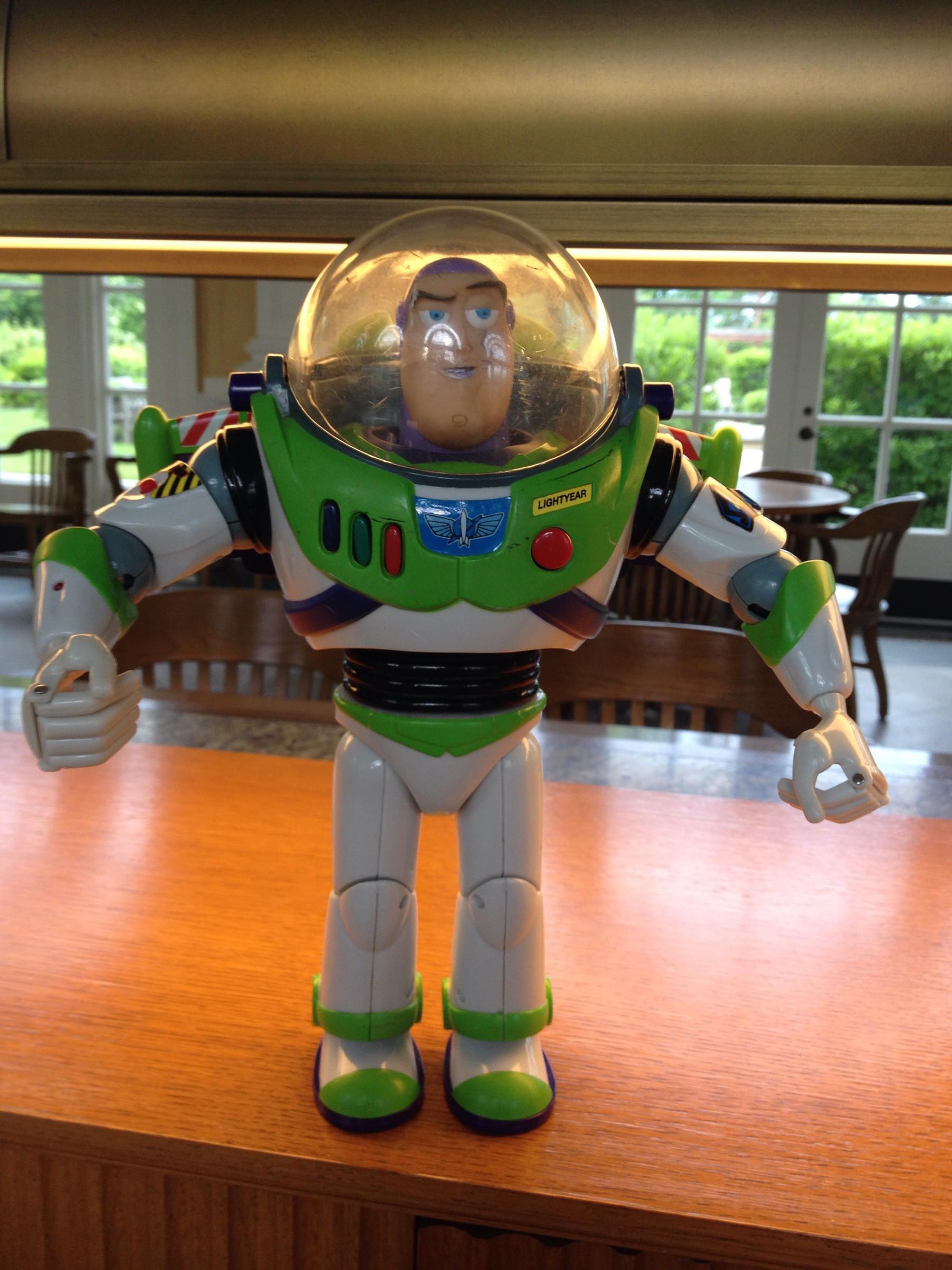 Full sized Buzz Lightyear