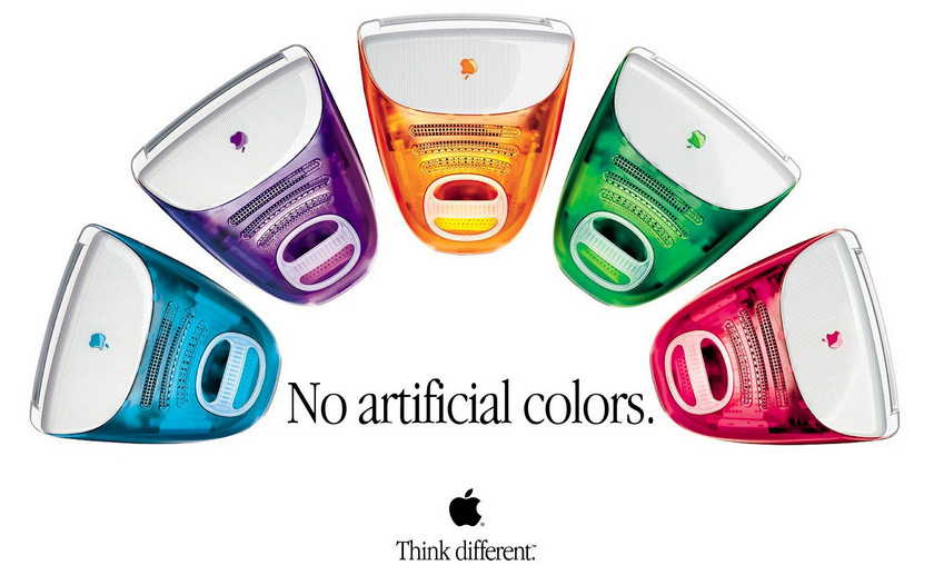 Original iMac colours