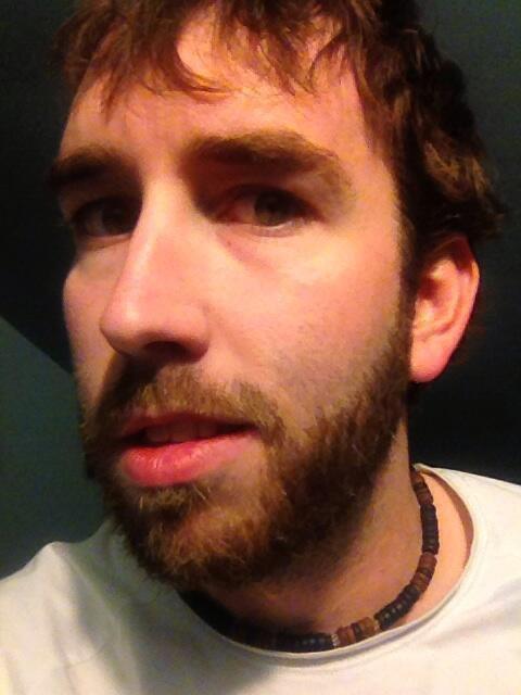 closeup of my playoff beard