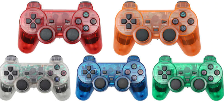 Clear PS2 controllers
