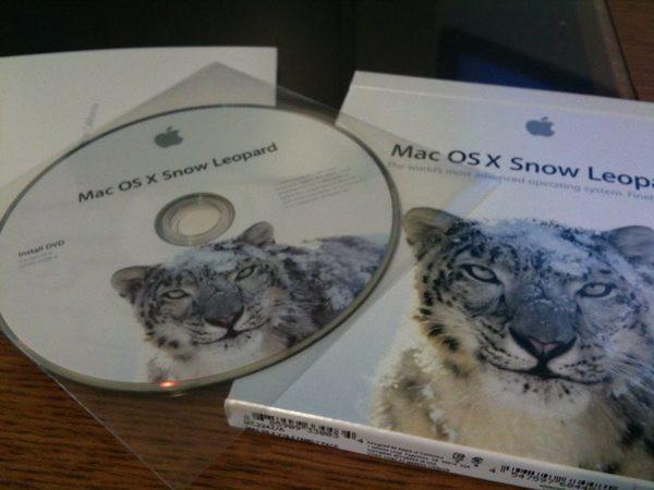 Snow Leopard install media