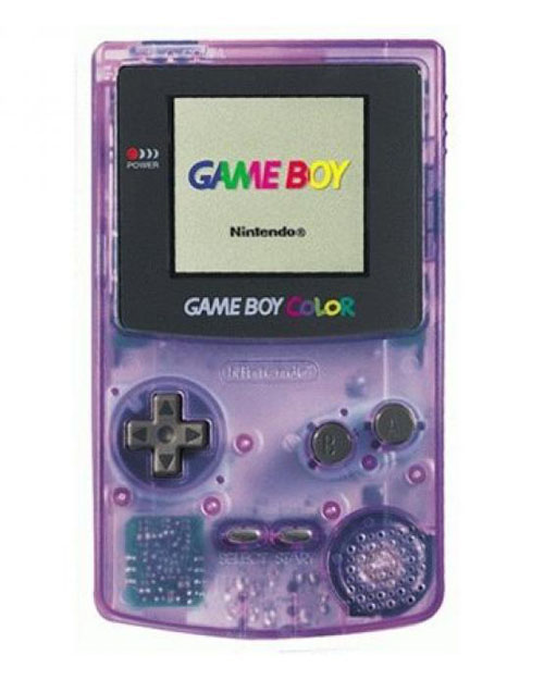 Clear Gameboy Color