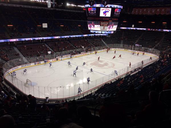 Calgary Saddledome Ice surface