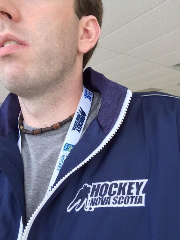 My Hockey Nova Scotia Track Jacket and Lanyard