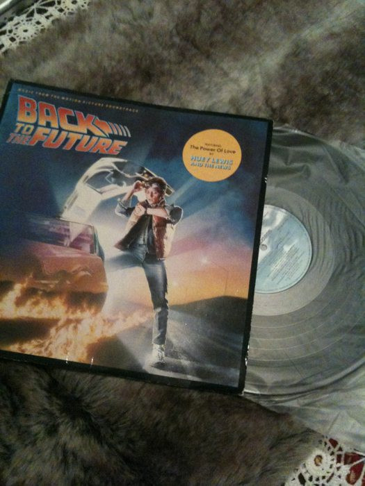 Back to the Future soundtrack on Vinyl