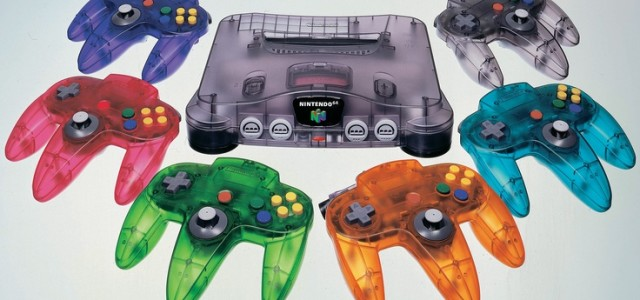 Clear N64 and controllers
