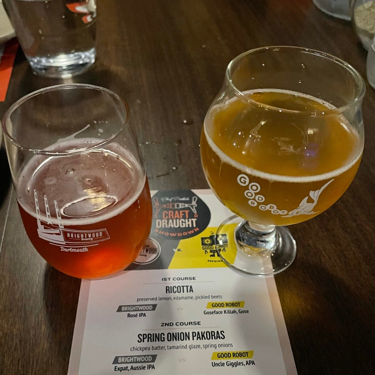 Round 1 beers